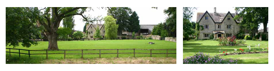 The Manor Farm, Alderton. Wiltshire